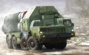 Картинка Россия, ЗРК, Фаворит, зенитно-ракетный комплекс, С-300, Пусковая установка