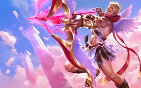 Картинка игра, арт, лучник, SIXMOREVODKA STUDIO, Heartseeker Varus - League of Legends