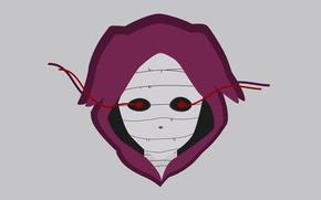 Картинка anime, manga, japanese, hood, Tokyo Ghoul, cannibal, Eto Yoshimura, vector by homets, Eto sama