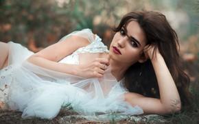 Картинка девушка, портрет, Carmen E. Morales