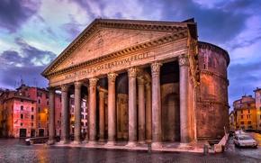 Картинка здание, Рим, Италия, колонны