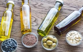 Картинка variety, oils, jars