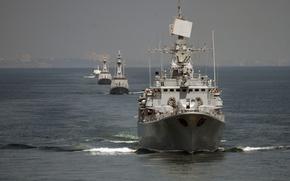 Картинка Ukrainian Navy, Fregat, Ukrainian frigate Hetman Sahaydachniy