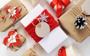 Картинка украшения, Новый Год, Рождество, подарки, happy, Christmas, wood, New Year, Merry Christmas, Xmas, gift, decoration