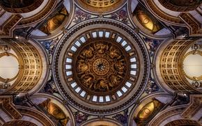 Обои религия, Собор Святого Павла, Лондон, Англия, архитектура