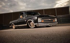 Картинка Chevrolet, 1967, Chevy, Pickup, C10, Fleetside