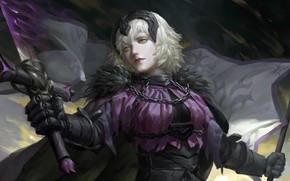Картинка девушка, фантастика, аниме, Fate / Grand Order, Судьба великая кампания