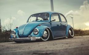Обои Авто, Ретро, Машина, Жук, Beetle, Volkswagen Käfer, 1972, Старый, Volkswagen Beetle, Käfer, Bug, 1-OYF 476, ...