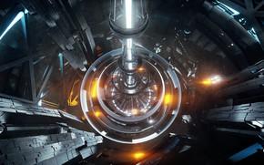 Картинка конструкция, луч, тоннель, аппарат, propulsion relay