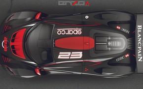 Картинка дизайн, верх, Poison car concept, аытомобиль