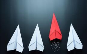 Обои планер, текстура, боке, wallpaper., good idea, оригами, beautiful background, бумажный самолет, аэрогами, бумажные самолетики ведущий ...