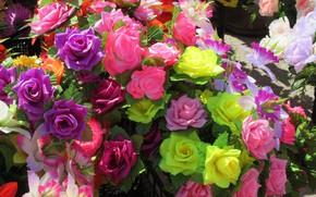 Картинка разные, Mamala ©, весна 2018, искуственные цветы