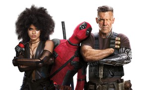 Обои Cable, Ryan Reynolds, Zazie Beetz, Deadpool Deadpool 2, Josh-Brolin