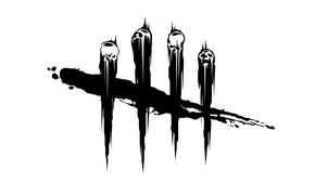 Картинка logo, white, black, Dead by Baylight