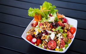 Картинка овощи, блюдо, салат