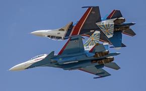 Картинка Sukhoi, Flanker, Su-30SM