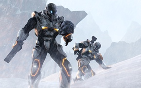 Картинка section 8, armor, cold, warior