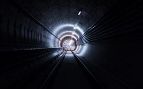 Картинка light, Tunnel, pipes