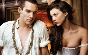 Обои Тюдоры, Natalie Dormer, The Tudors, Jonathan Rhys Meyers, King Henry VIII, Anne Boleyn, сериал