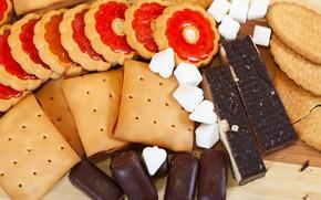 Картинка печенье, конфеты, выпечка, вкусняшки