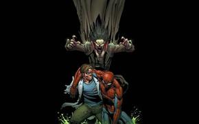 Картинка spider-man, Ящер, вампир, человек паук, Конорс, Морбиус, Morbius, Lizer