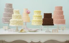 Картинка праздник, украшение, крем, десерт, свадьба, тортики