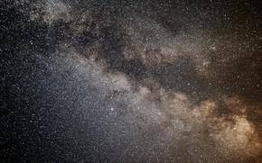 Обои звезды, ночь, бескрайность, млечный путь