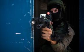 Картинка оружие, солдат, Israel Defense Forces