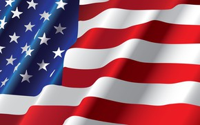 Обои флаг, полосы, звезды, США