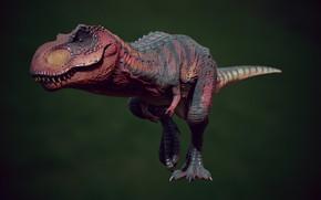 Картинка динозавр, арт, T-REX, Henrique Naspolini