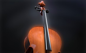 Обои инструмент, струны, музыка, виолончель