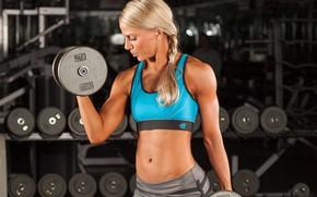 Картинка model, blonde, female, fitness