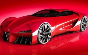 Картинка Concept, Alfa Romeo, Суперкар, Supercar, Спорткар, Project, Alfa 6C