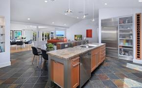 Картинка мебель, кухня, Design, Interior, Kitchen