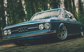Картинка Audi, Фото, Авто, Ауди, Ретро, Машина, Арт, 100, Mike Crawat Photography, Mike Crawat, Audi 100 …