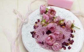 Картинка цветы, Спа, морская соль