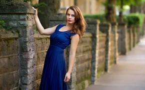Картинка взгляд, модель, волосы, платье, Laura Jalkanen