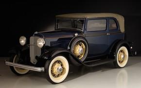 Обои V8 Convertible Sedan, Ford, 1932, ретро