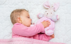 Картинка отдых, игрушка, ребенок, спит, девочка, младенец, toys, child, sleep, Infants