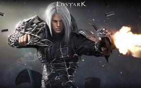 Картинка оружие, огонь, игра, гильзы, Lost Ark