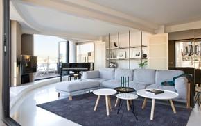 Картинка вилла, люкс, гостиная, интерьер, комната