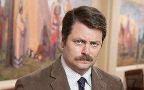 Картинка Look, Mustache, Nick Offerman, Ron Swanson
