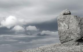 Картинка небо, природа, камни