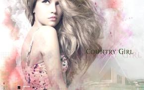 Картинка девушка, волосы, арт