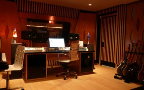 Картинка Guitars, Studio, Instruments