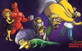 Картинка Симпсоны, Рисунок, Гомер, Simpsons, Арт, Ужас, Мультфильм, The Simpsons, Homer Simpson, Гомер Симпсон, Homer, Iguana, …
