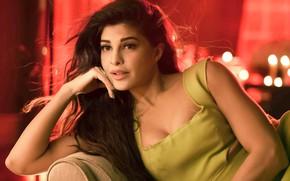 Картинка портрет, макияж, актриса, брюнетка, прическа, красотка, в кресле, позирует, боке, сидя, actress, Indian, bollywood, индийская, …