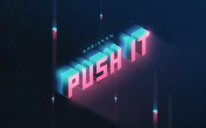 Картинка Music, Cover, Monstercat, Apriskah, Push It