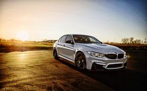 Картинка белый, бмв, BMW, седан, F80