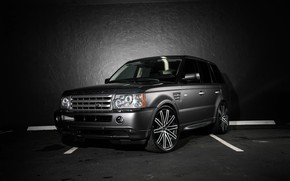 Обои matched, Range Rover, Sport, wheels, Ruff Racing, body, lowered, trim